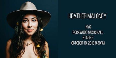 Heather Maloney tickets