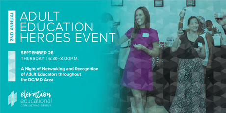 Adult Education Heroes Celebration tickets