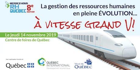 Rendez-vous RH Québec - 8e édition billets
