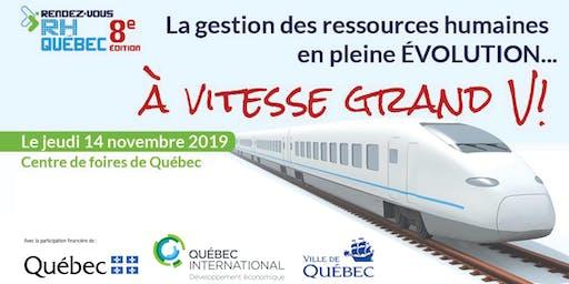 Rendez-vous RH Québec - 8e édition