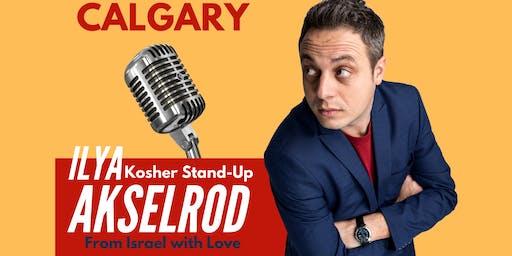 Ilya Akselrod  StandUp in Calgary 28 September