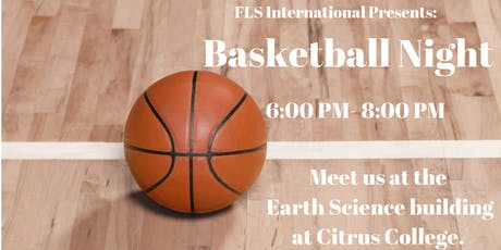 FLS INTERNATIONAL BASKETBALL NIGHT! tickets