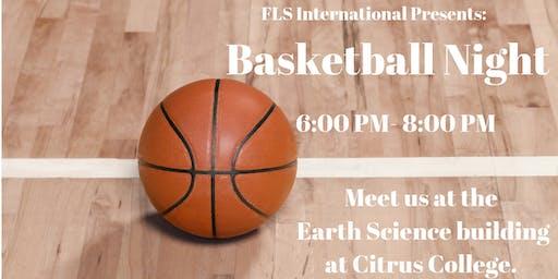 FLS INTERNATIONAL BASKETBALL NIGHT!