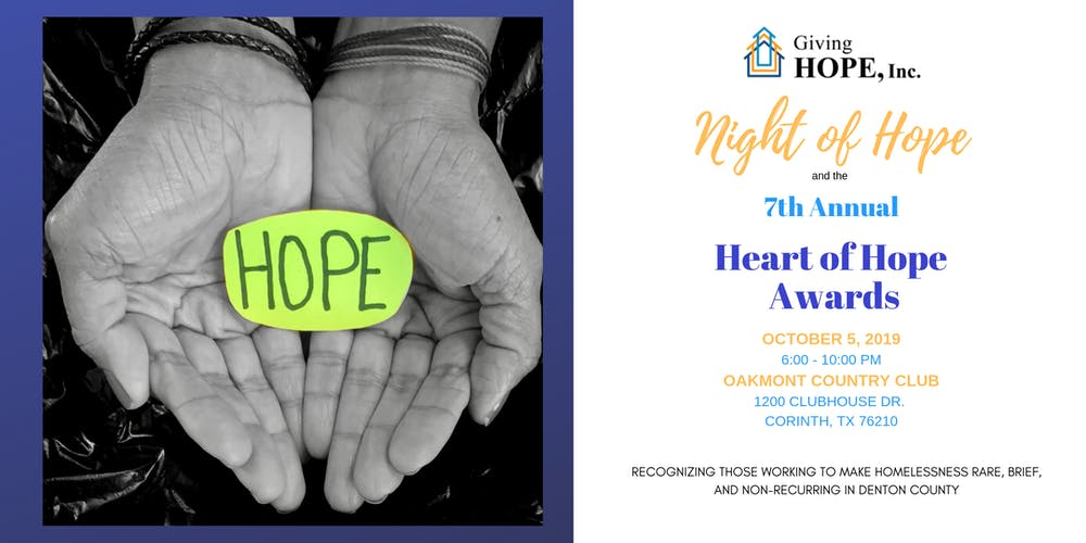Night of Hope Tickets, Sat, Oct 5, 2019 at 6:00 PM | Eventbrite