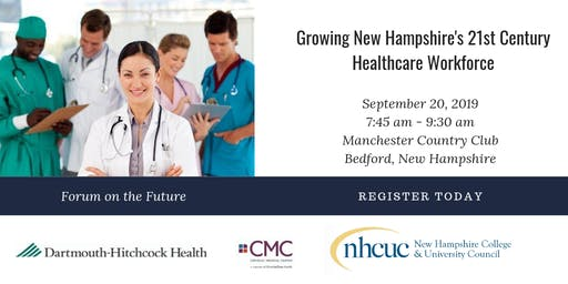September 20 Forum on NH's Healthcare Workforce