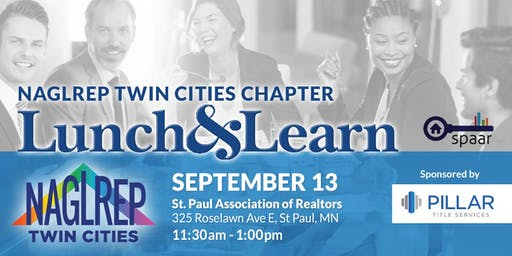NAGLREP Twin Cities Lunch & Learn September 13