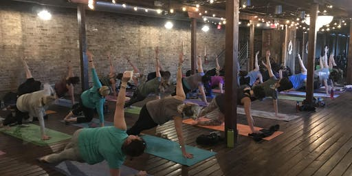 Tuesday August UnWINEd Yoga