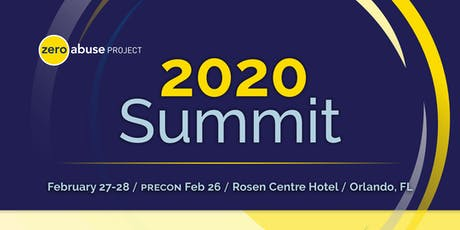 Zero Abuse Project Summit 2020 tickets