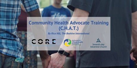 Community Health Advocate Training (CHAT) tickets
