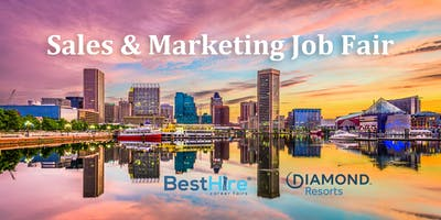 Sales & Marketing Job Fair in Baltimore - August 28th at the Radisson Hotel