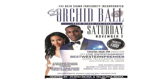 Phi Beta Sigma Fraternity Incorporated - Orchid Ball Detroit 2019