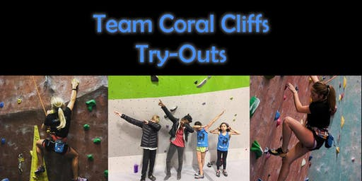 Coral Cliffs Climbing Team Try-Outs!