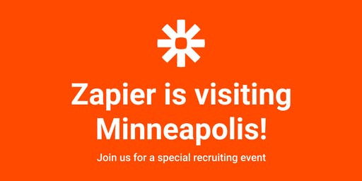 Zapier's Special Recruiting Event