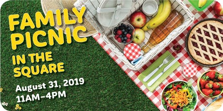 Family Picnic in The Square tickets
