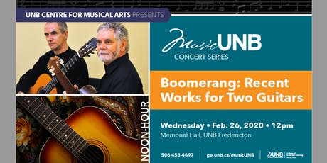 Boomerang: Recent Works for Two Guitars tickets