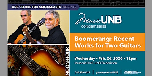 Boomerang: Recent Works for Two Guitars