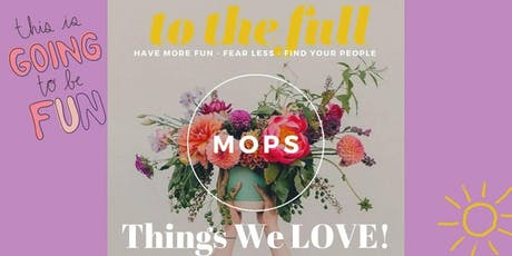 September MOPS & MomsNext Meeting tickets