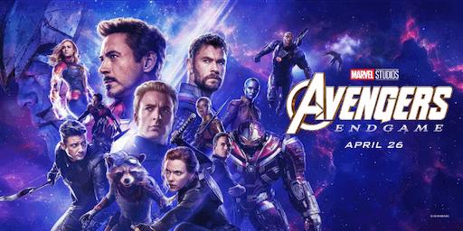 Avengers: Endgame in Woodlands Park