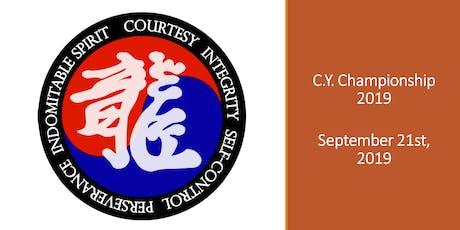 2019 C.Y. Taekwondo Championships tickets