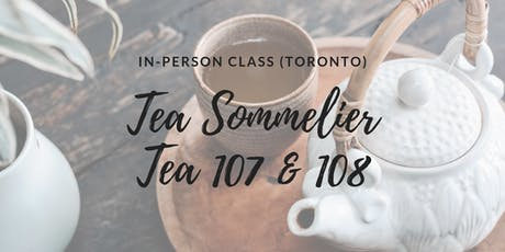 TEA 107 & 108: In-person class (THAC Toronto) tickets