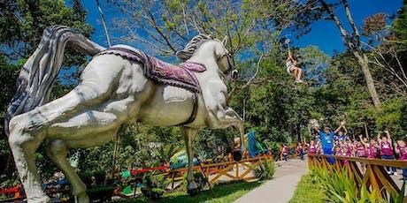Desconto para um dia de diversão no Sitiolândia Eco Park ingressos