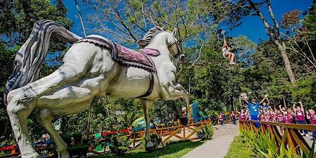 DESCONTÃO na quarentena para um dia de diversão no Sitiolândia Eco Park ingressos