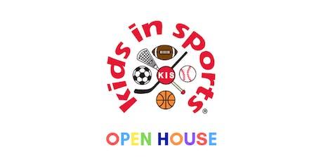 Kids In Sports Open House tickets