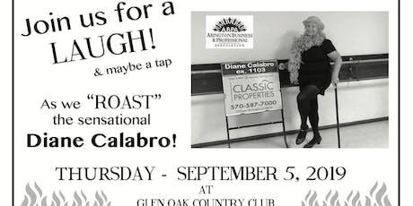 Roast of Diane Calabro tickets