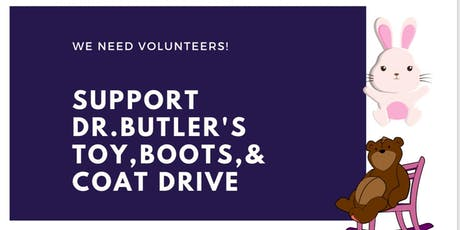 Dr. Butler's Toy, Boot & Coat Drive tickets