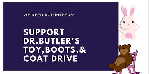 Dr. Butler's Toy, Boot & Coat Drive