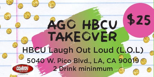 HBCU Laugh Out Loud (LOL) Comedy Night