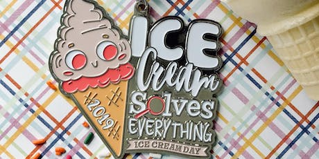 Only $15! Ice Cream Day 1 Mile, 5K, 10K, 13.1, 26.2 -Cleveland tickets