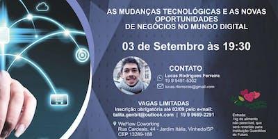 Mudanças tecnológicas e novas oportunidades de negócios no mundo digital.