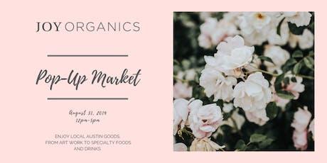 Joy Organics Pop-Up Market tickets