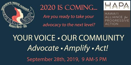 Your Voice-Our Community (A Civic Engagement Workshop) tickets