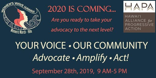 Your Voice-Our Community (A Civic Engagement Workshop)