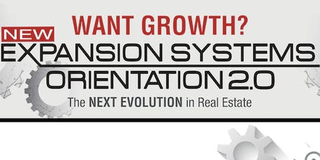 Expansion Systems Orientation 2.0 (ESO 2.0) with Kristan Cole in Sarasota, FL tickets