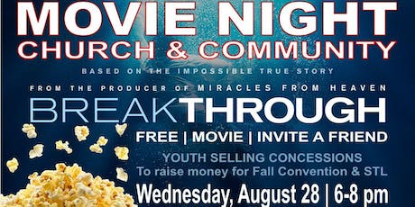 Breakthrough Movie tickets