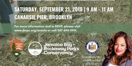 Volunteers Needed: Beach Cleanup at Canarsie Pier, Brooklyn tickets