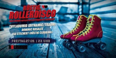 Rüstig.Rollerdisco | Thyladomid, Dominic Rosales, Kai Stechert Tickets