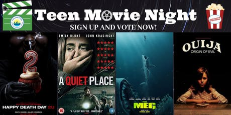 Teen Movie Night - horror edition tickets
