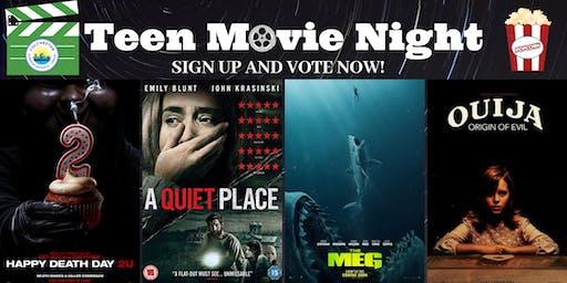 Teen Movie Night - horror edition