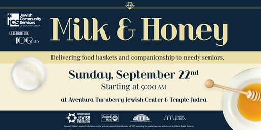 JCS 100th Anniversary Milk & Honey Event