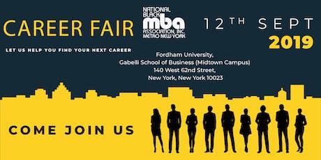 National NY Black MBA Job Fair Fall 2019  tickets