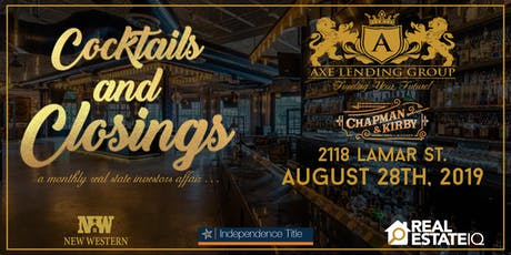 Cocktails & Closings | A Monthly Real Estate Networking Event  tickets