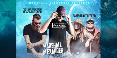 The Area 51 AFTER PARTY w/Marshall Alexander &More