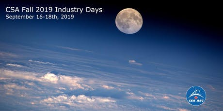 CSA Fall 2019 Industry Day 1: ispace tickets