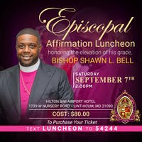 Bishop Shawn Bell's Episcopal Luncheon
