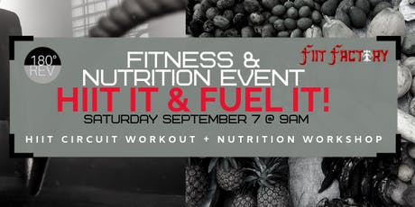 HIIT It & FUEL It tickets