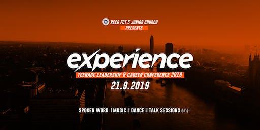 Experience (Teenage Leadership & Career Conference